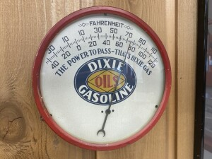 Dixie Gasoline Thermometer