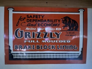 Grizzly Brake Block Lining