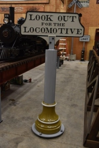 Look out for the Locomotive Cast Iron Sign