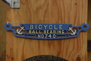 Bicycle Ball Bearing Cast Iron Plate