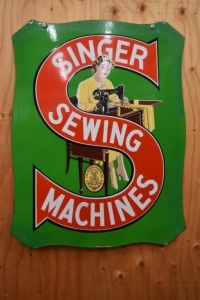 Singer Sewing Machines Sign