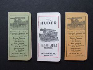 3 Huber Ledgers