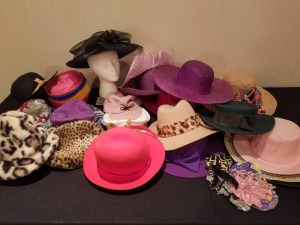 Large Lot Assorted Women's Hats