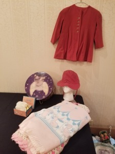 Blanket Clothes and Plate