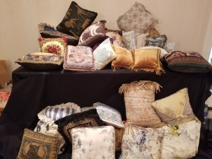 Large Decorative Pillows Lot