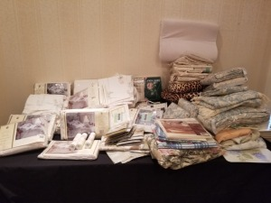Linens / Pillow Shams And Wall Borders Lot