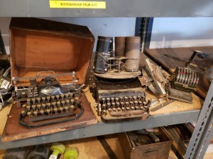 Antique Typewriters Lot