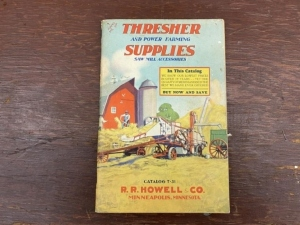 Thresher and Power Farming Supplies Catalog