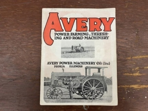 Avery Power Farming and Road Machinery Catalog