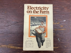 May 1929 Electricity on the Farm Magazine