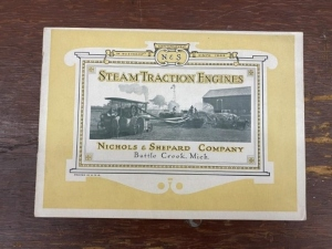 Nichols and Shepard Steam Traction Engines Catalog