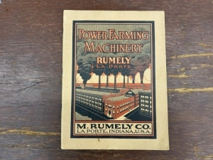 M. Rumely Power Farming Machinery Catalog