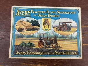 1916 Avery Co. Gas Tractors and Steam Engines Catalog