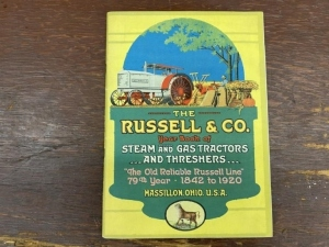 The Russell Co. Steam and Gas Tractors Catalog
