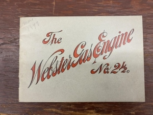 The Webster Gas Engine Catalog No. 2-1/2
