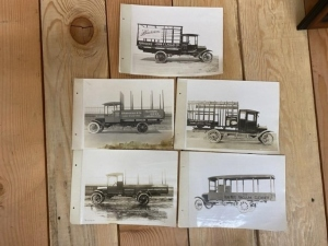 Vintage Factory Truck Photographs