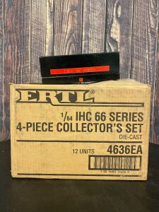 "Various Scale 1/64 Ertl International Harvester IHC ""66"" Series 4 Piece Collector's Set #3"