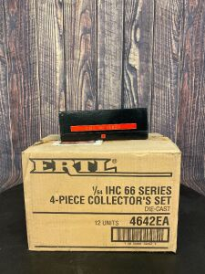"Various Scale 1/64 Ertl IHC ""66"" Series 4 Piece Collector's Set #4"