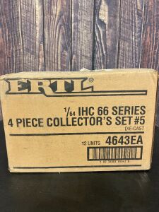 "Various Scale 1/64 Ertl International Harvester IHC ""66"" Series 4 Piece Collector's Set #5"