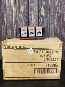 "Various Scale 1/64 Ertl Farmall ""M"" Collector's Set #4"