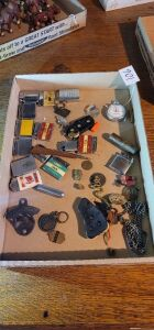 Misc lot. Zippo, Coca-Cola, occupation metal and more