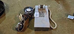 vintage phone and line tester