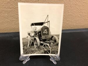 Emerson Brantingham Big 4-20 with plow guide photograph