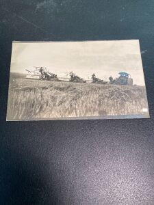 Vintage Reeves Traction Engine Postcard
