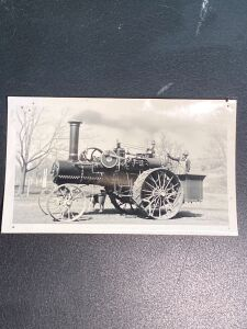 Vintage Traction Engine Photo