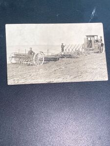 Vintage Case Plowing Postcard