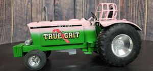 "1/16 Scale Chucky's Precisions & Pullers Custom John Deere Pulling For The Cure ""True Grit"" 6030"