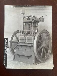 Fairbanks engine photograph
