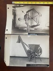 Fairbanks windmill and feed mill photograph