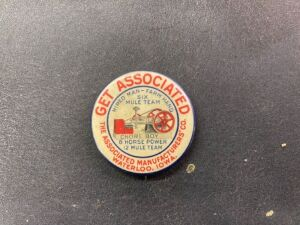 Associated Manufacturers Co, pin