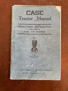 Case 10-18 Instruction and operation manual