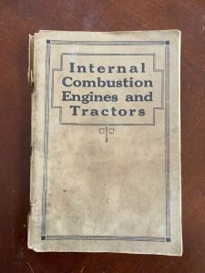 Internal combustion engines and tractors by International Harvester Company