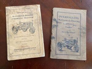 Pair of Farmall manuals