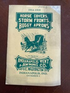 1914-1915 Indianapolis Tent & Awning Company catalog