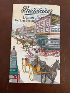 Studebaker Delivery wagon catalog