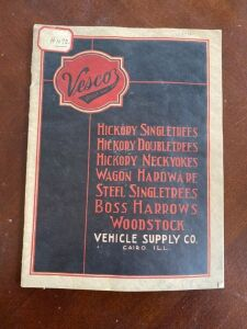 Vesco Vehicle Supply Company catalog