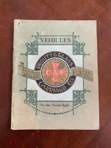 Prouty & Glass Carriage Company booklet