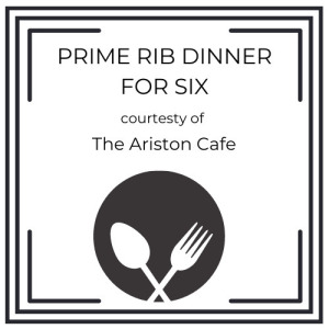 Prime Rib Dinner from Ariston Cafe