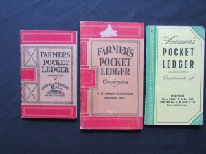 John Deere Pocket Ledgers (3)