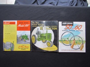 John Deere Sales Literature Lot (3)