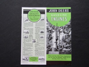 John Deere Gasoline Engine Literature (1)