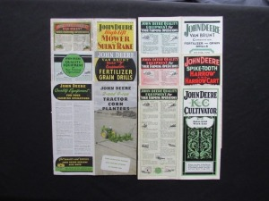John Deere Sales Literature Lot (6)