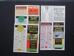 John Deere Sales Literature Lot (5)
