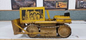 Pedal Scale New London Metal Processing Corp. Caterpillar Model D4 Diesel