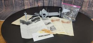 1/16 Scale T. J. Vintage Custom John Deere grain binder kit