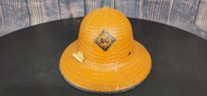 Various Scale Allis-Chalmers Straw Pith helmet